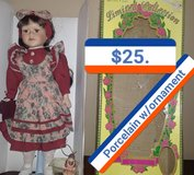 new..also has porcelain ornament doll in Elizabethtown, Kentucky