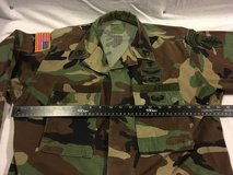 hot weather special forces rangers bdu woodland medium long jacket top airsoft  02085 in Fort Carson, Colorado