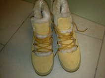 Newish Lugz Champange Suede Hiking Boots Size 7 in Ramstein, Germany