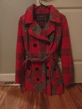 Dollhouse Faux Wool Double Breasted Pea Coat in Rolla, Missouri