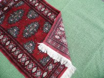 Small rug high quality Hand-knotted Carpet with fringes in Wiesbaden, GE