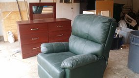 FREE! RECLINER & DRESSER WITH MIRROR in Oswego, Illinois