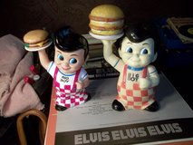 TWO SHONEY'S BIG BOY BANKS GREAT CONDITION   BOTH FOR THE MONEY in Byron, Georgia