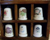 18 Miniature Thimbles with shelf in Alamogordo, New Mexico