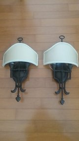 WROUGHT IRON WALL LIGHT SCONCES in Beaufort, South Carolina