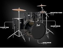 Brand new in box Pearl Soundcheck Series Drum Kit in Lawton, Oklahoma