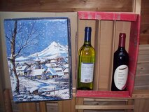 2 XMas emty Wineboxes in Ramstein, Germany