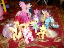 "15 ""My Little Ponies"" with furniture in Alamogordo, New Mexico"