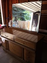Matching Dresser with Mirror and Chest of Drawers in New Lenox, Illinois