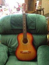 Guitar with soft case in Fort Campbell, Kentucky