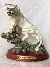 Sculpture: White Tiger in Perry, Georgia