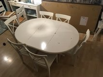 Ikea table with six chairs in Stuttgart, GE