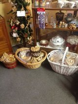 Holiday ornaments hand made in Fort Campbell, Kentucky