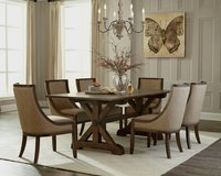 UF NEW - Chateau Dining Table with 6 Chairs - Brand New in Ramstein, Germany