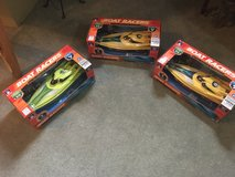 Remote control racing boats in Shorewood, Illinois