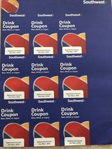 Southwest Airlines Drink Vouchers in Naperville, Illinois