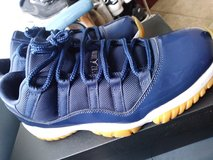 Jordan 11's Navy Gum in Travis AFB, California