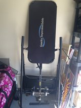 Inversion Table for back trouble in Fort Leonard Wood, Missouri