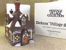 "(NEW) Heritage Village Dickens Department 56 Dickens Village Series ""Wm. Wheat Cakes & Puddings"" in Fairfield, California"