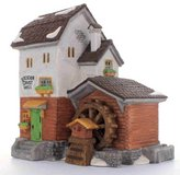 "(NEW) Heritage Village Collection Dickens' Village Series ""Stoder Grist Mill"" in Fairfield, California"