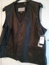 Men's Leather Vest  BRAND NEW in Beaufort, South Carolina