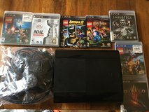 PS3 console and games in Yorkville, Illinois
