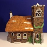 "(NEW) Department 56 Heritage Village Collection Dickens Village Series ""Ivy Glen Church"" in Fairfield, California"