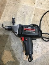 "Power drill. Craftsman 3/8"". Good condition. in Travis AFB, California"