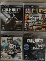 PS3 Games in Yorkville, Illinois