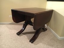 "Vintage Mahogany Table With 4-14"" Leaves in Wheaton, Illinois"