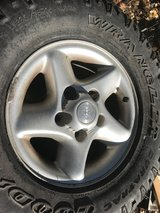 Set of Dodge 16 inch truck rims 5 lugs in Ruidoso, New Mexico
