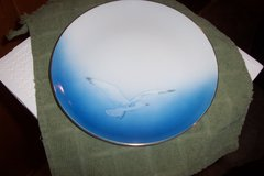 Seagull plate in The Woodlands, Texas