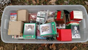 Box of Christmas Displays in Fort Riley, Kansas