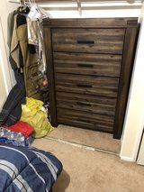 Bedroom Set (night stand, chest and bed frame) in 29 Palms, California