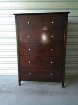Beautiful height top dresser with 5 drawers in El Paso, Texas
