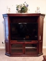 Entertainment Cabinet with Flat Screen TV in Moody AFB, Georgia