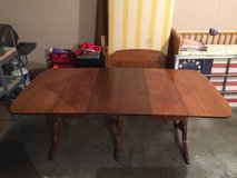 Vintage Duncan Phyfe Type Three (3) Pedestal Table w/ six (6) chairs in Fort Leonard Wood, Missouri