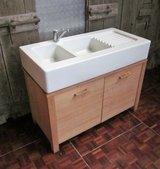 Country Style Kitchen or Bathroom Free Standing Sink and Cabinet With Faucet. in Ramstein, Germany