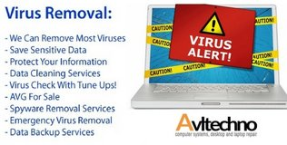 virus removal software in Los Angeles, California