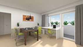20 Minutes to Kelly-Barracks: 100sqm, 3-Rooms,  two Balcony in Stuttgart, GE