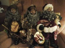 Ethnic Santa figures in Lawton, Oklahoma