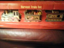 Harvest train set , table decoration in Lawton, Oklahoma