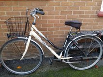 ladies bicycle in Lakenheath, UK