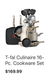 New Tefal 16pieces nonstick  cookwear set in Kingwood, Texas