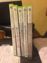 assassins creed xbox 360 Lot in Lawton, Oklahoma