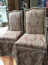 : )  2 MATCHING BOMBAY PARSON DINING CHAIRS >>>  Very Nice !!! in Westmont, Illinois