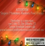 Attention Vendors, Musicians, Food Trucks, Singers in Fort Bliss, Texas