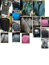 BIG BOX OF MISC..CLOTHING MENS ,WOMENS and KIDS ALL SIZES 150 peices in 29 Palms, California