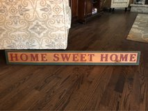 Home Sweet Home Wood Sign in Naperville, Illinois