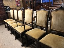 6 dining room chairs in Camp Lejeune, North Carolina